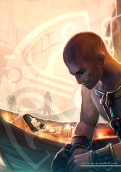 Dreamfall Chapters. Kian Alvane