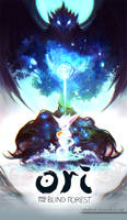 Ori And The Blind Forest by shalizeh