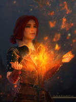 Triss Merigold by shalizeh