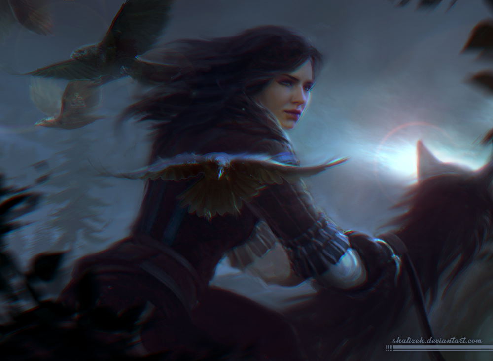 Yennefer by shalizeh