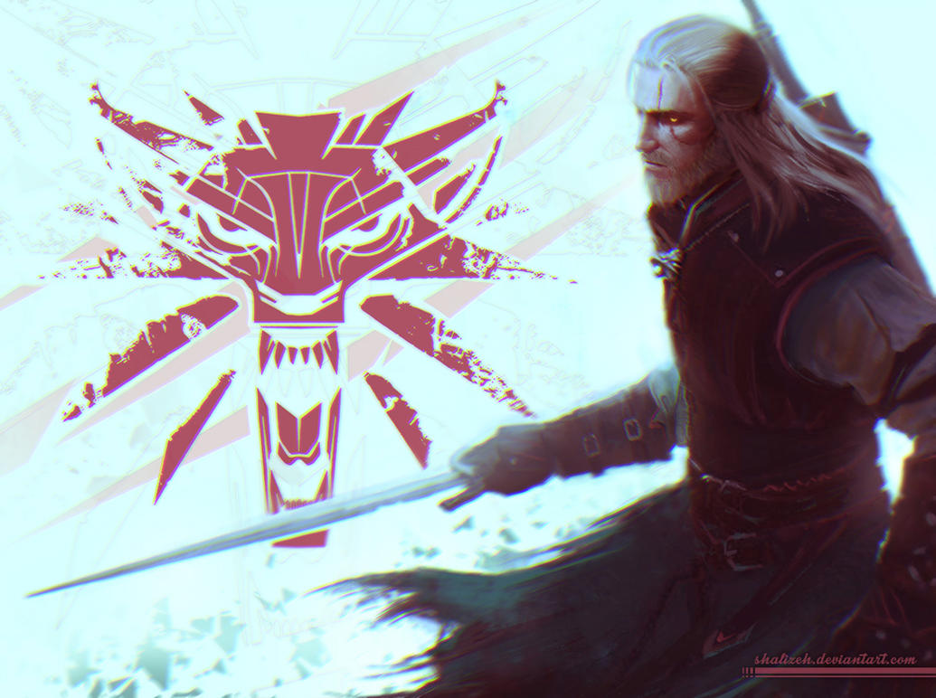 Geralt of Rivia by shalizeh