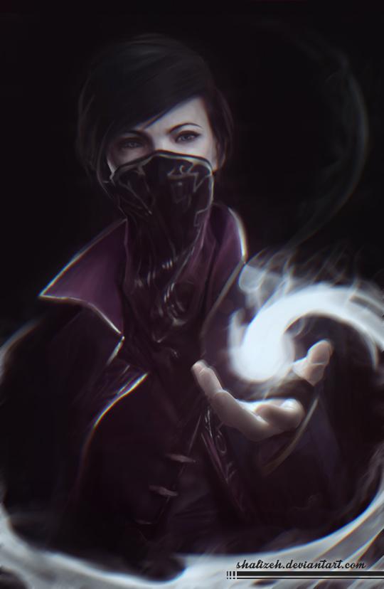Dishonored emily and corvo