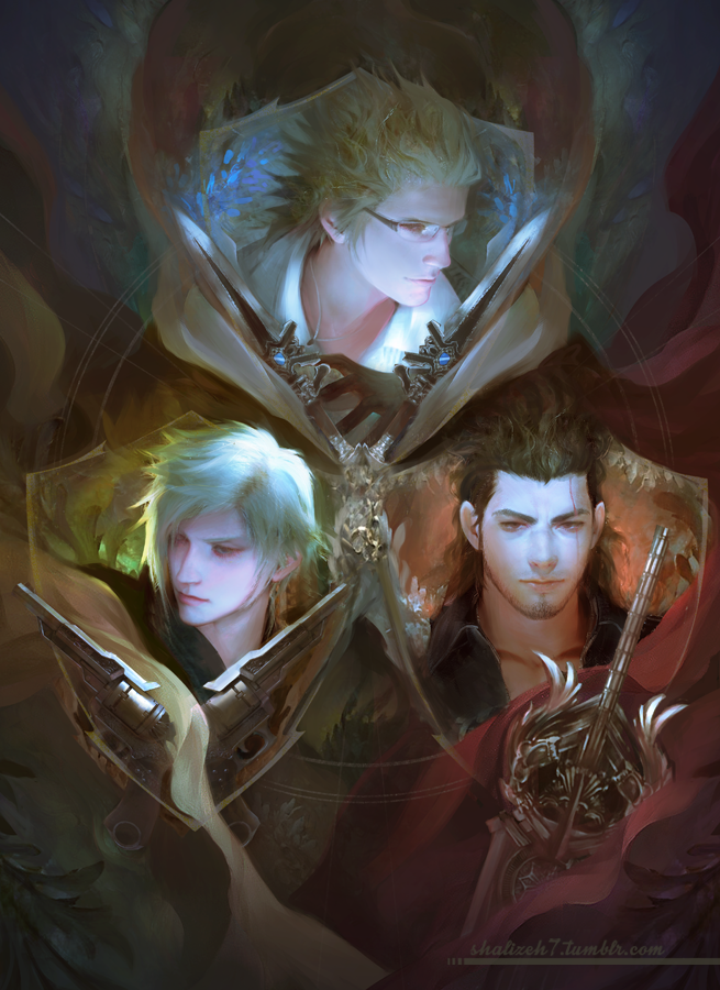 Final Fantasy XV again by shalizeh