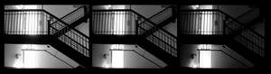 staircase grayscale
