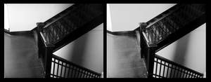 staircase 2 grayscale