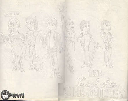 The Esbelia Chronicles cast 2 by marlon94