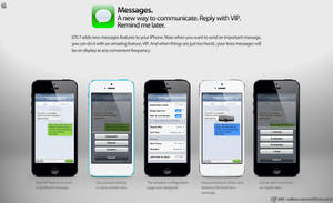 iOS 7 Messages's features