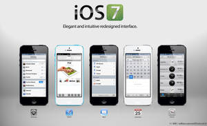 iOS 7 redesigned apps