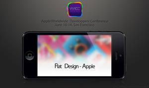 Flat Design - Apple