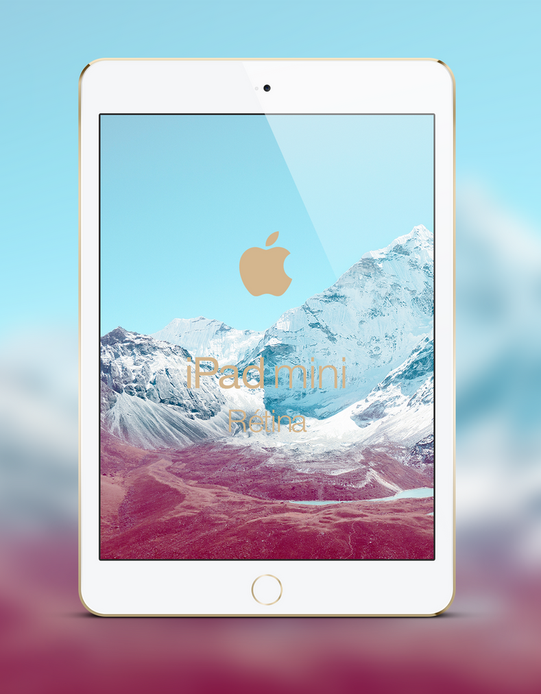 [Concept] iPad Mini Retina and Gold color by WillViennet