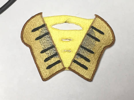 Cheese Sandwich embroidered cutie mark Patch