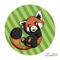 Chibi Red Panda by Zenith30000