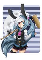 Puchi Usagi Mascot by Zenith30000