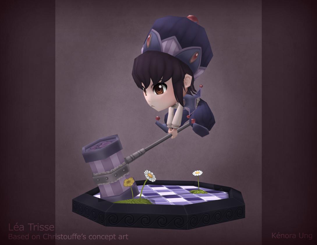 Mini 3D Lea Trisse by Zenith30000