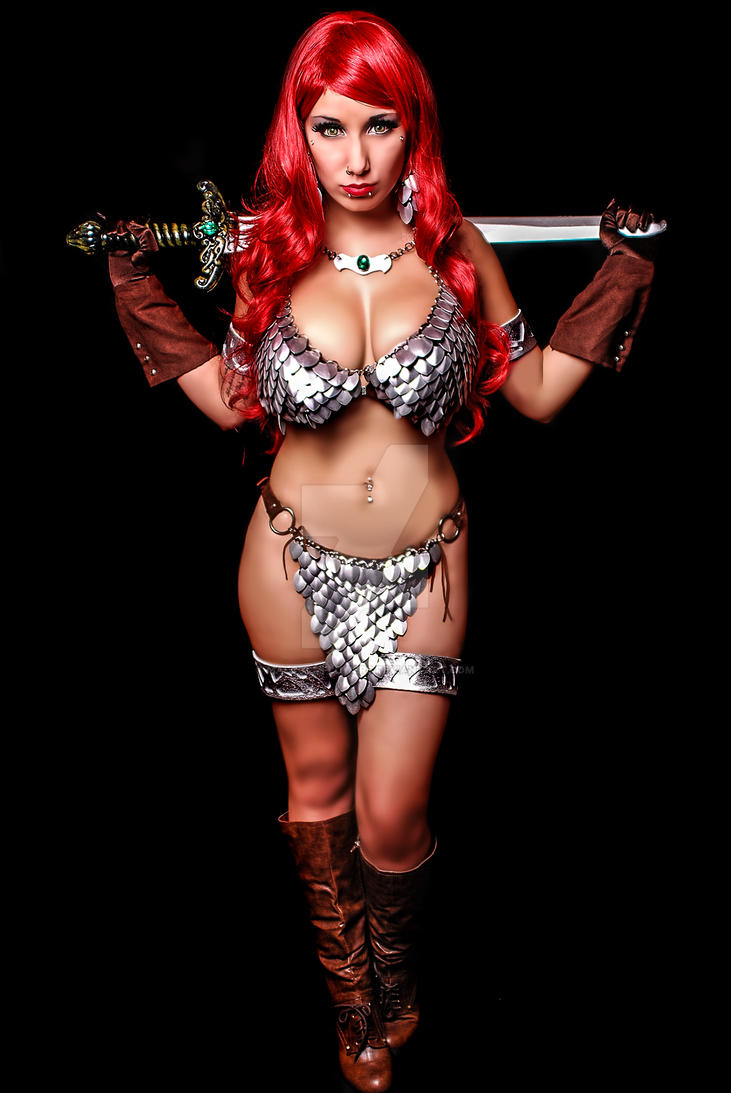 Red Sonja 005 by malcolmflowers
