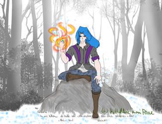 Coldfire Prince by KimaPrince