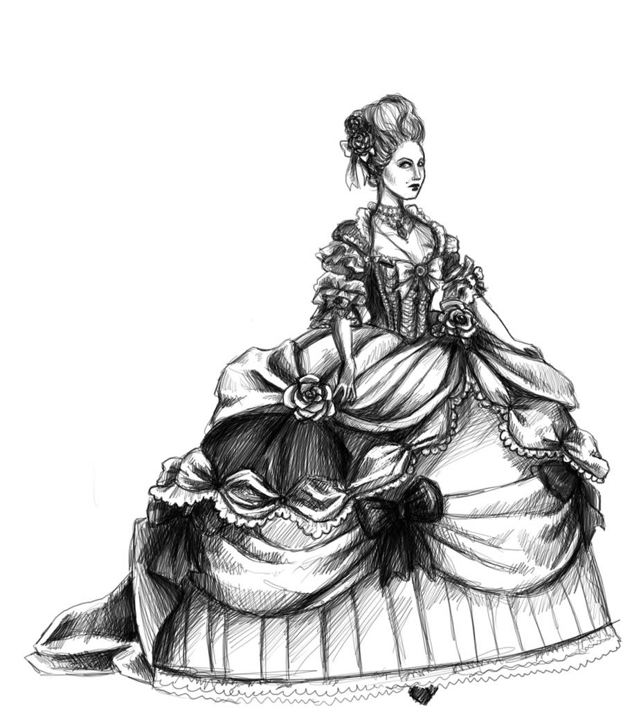 Marie Antoinette by koffinkandy
