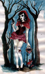 Little Red Riding Hood by koffinkandy