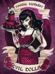 zombie birthday!!!!