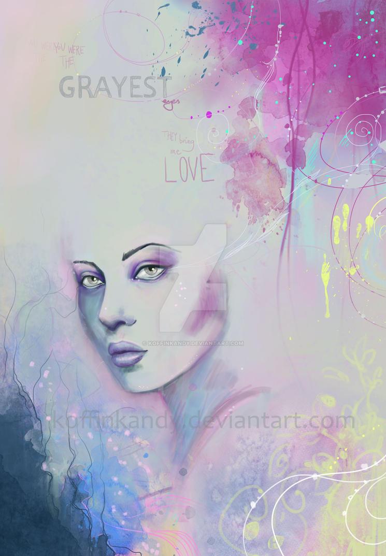 grayest eyes by koffinkandy
