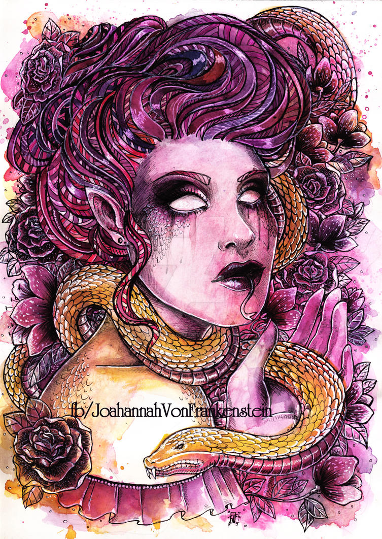 The serpent by koffinkandy