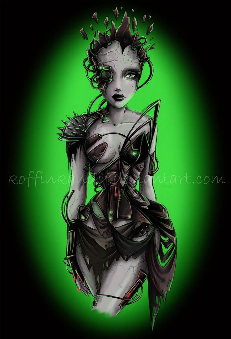 queen of BORG by koffinkandy