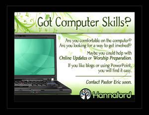 Got Computer Skills?
