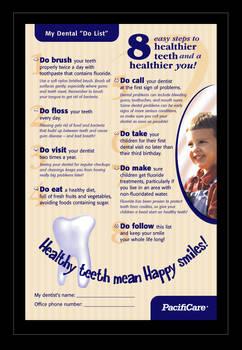 Dental 'Do List'