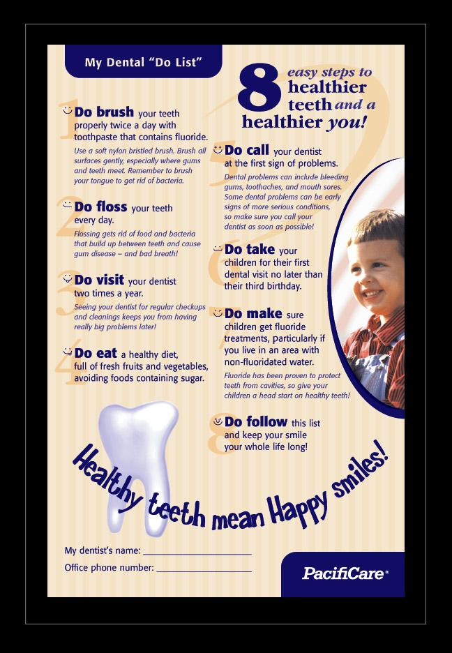 Dental 'Do List' by ecpowell