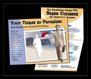 Sales Contest Self-Mailer