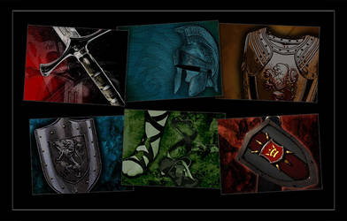 Armor Backgrounds by ecpowell