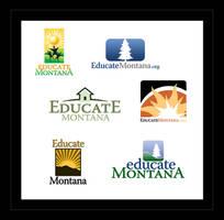 Educate Montana Logo Designs by ecpowell