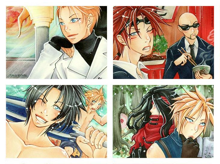 Ff7 Karte.Final Fantasy Vii Kakao Iii By Tiara C On Deviantart
