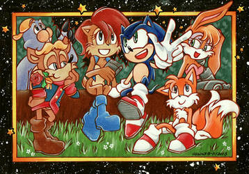 Sonic the Hedgehog : SatAM by Tiara-C