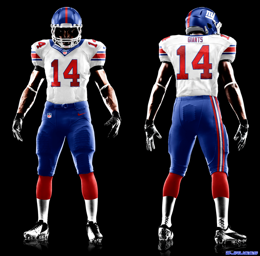 New York Giants Home And Away Jerseys