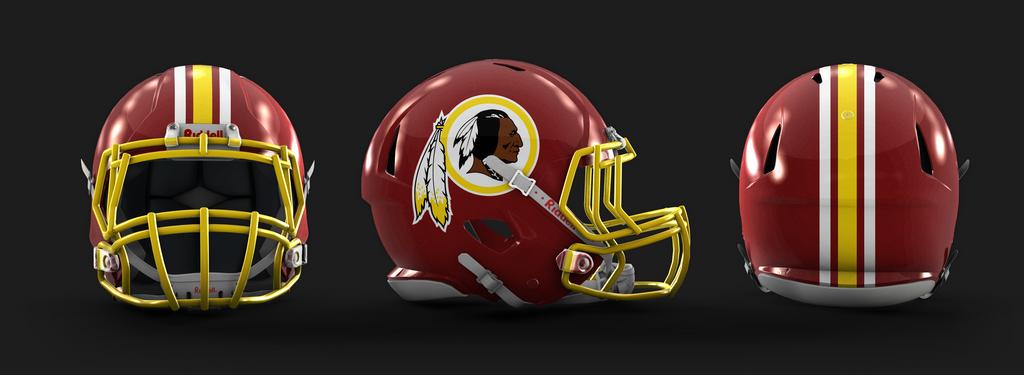 Redskins Helmet 2014 Fixing the NFL... Agai...
