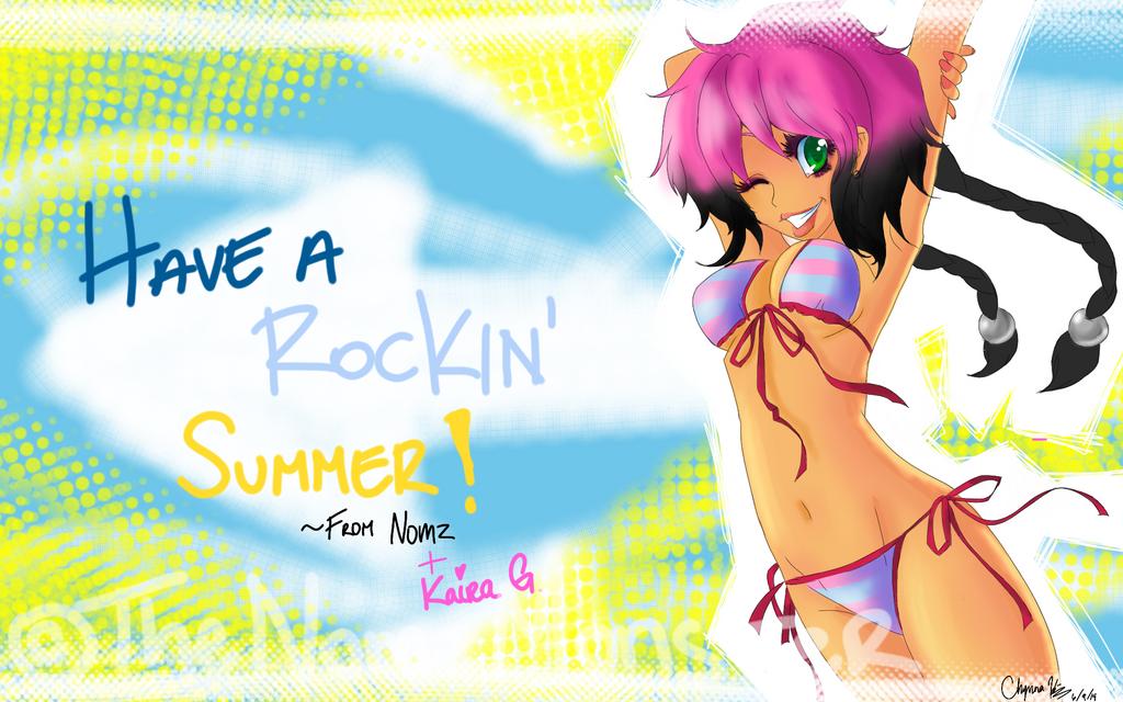 Have A Rockin Summer!! by juke-boxx