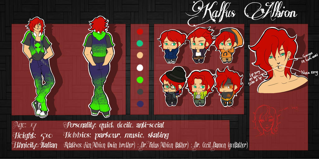 Synthetic Heroes: Kalfus (Kal) Albion by juke-boxx