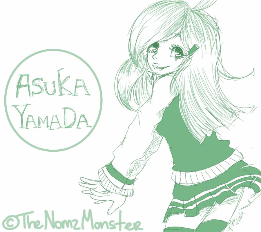 AT: Asuka Yamada by juke-boxx