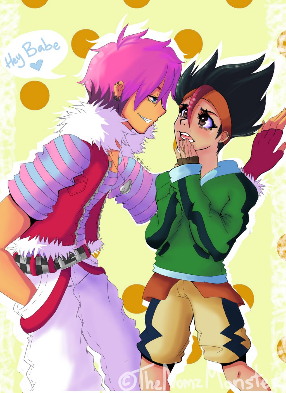 Genderbent MasaKai by juke-boxx