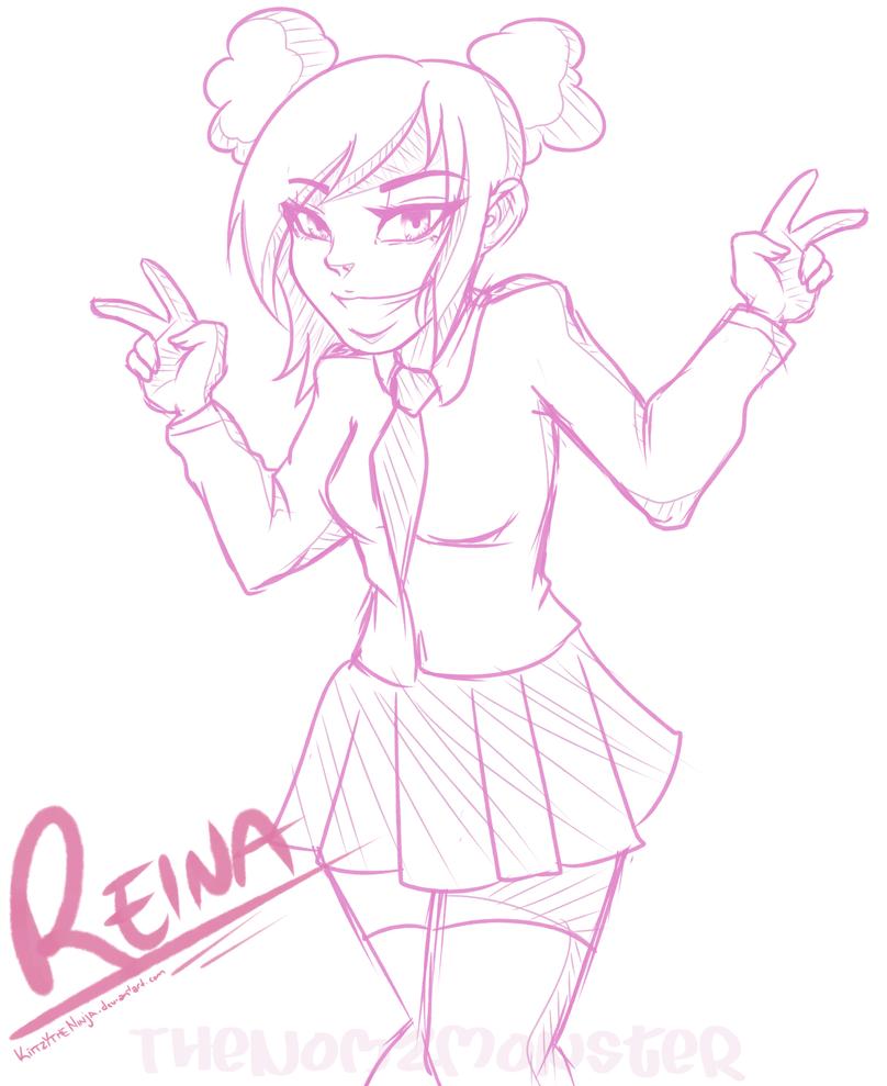 :COMM: Reina Shimizu by juke-boxx