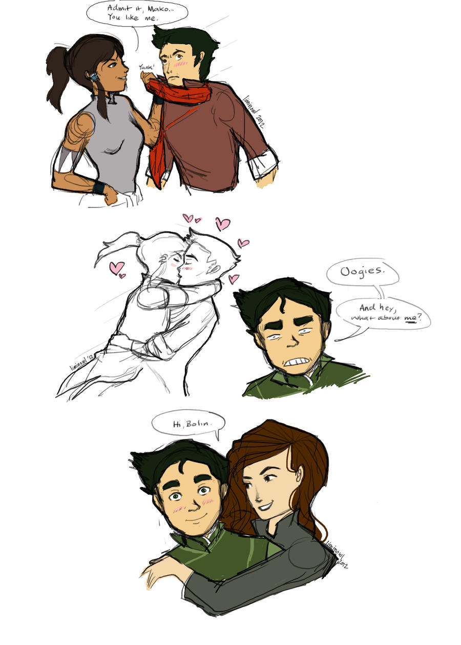 Makorra Established...What about Bolin? by liminowl on ...
