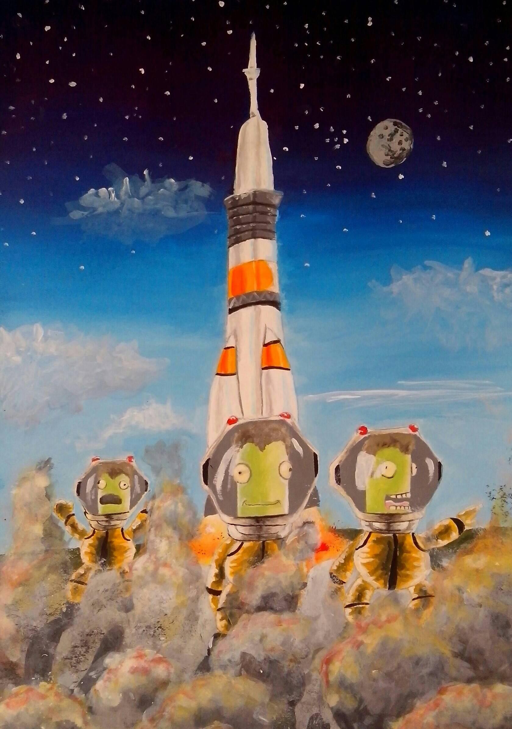 Kerbal space program by pringlesaddict99 on deviantart - Wallpaper kerbal space program ...