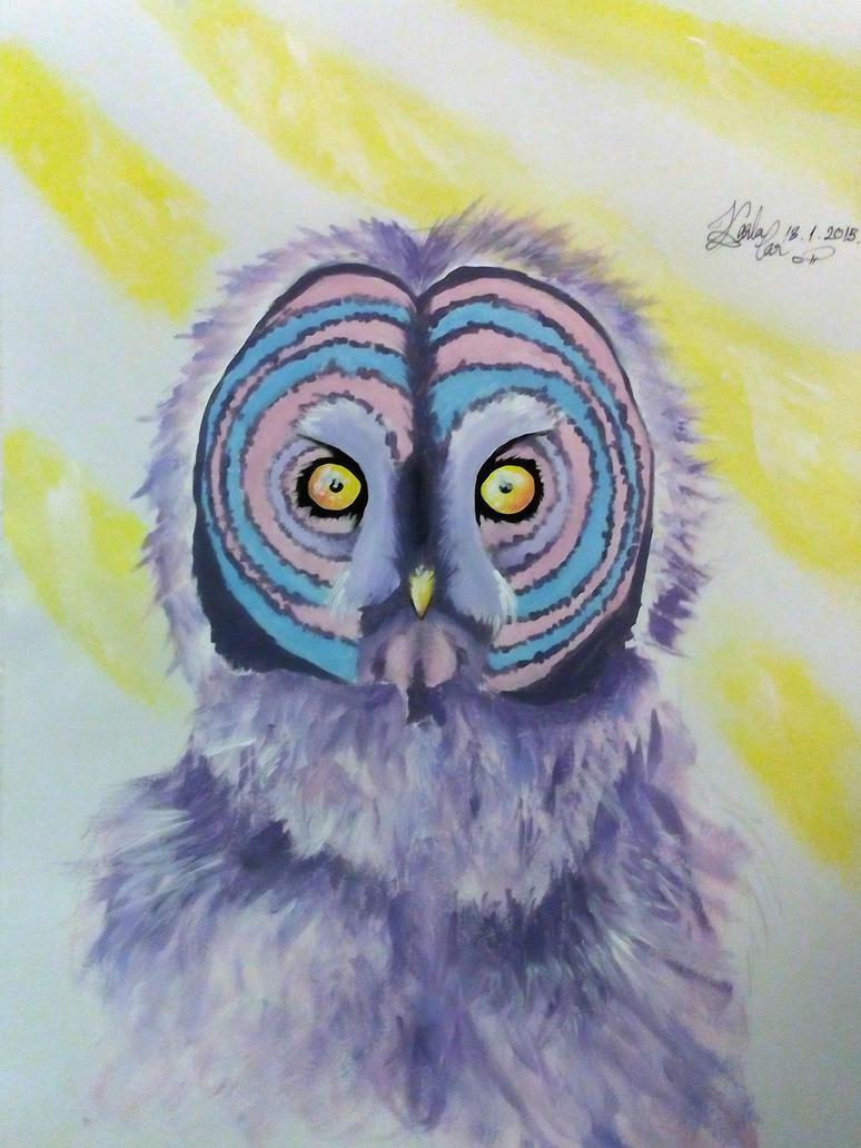 Gay Owl by pringlesaddict99