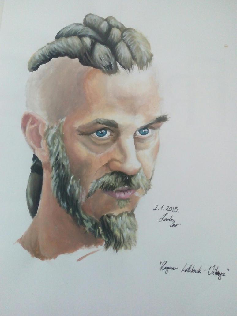 Ragnar Lothbrok by pringlesaddict99