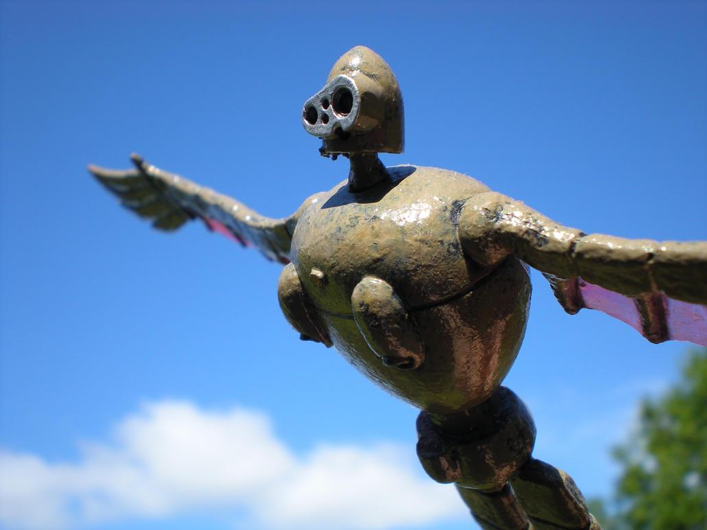 天空の城ラピュタの人形