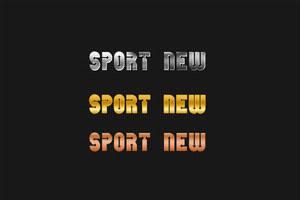 Golden Sport Logo by psd-fan