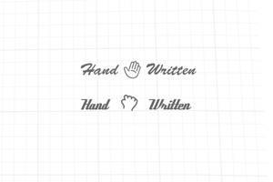 Hand Written Logo by psd-fan