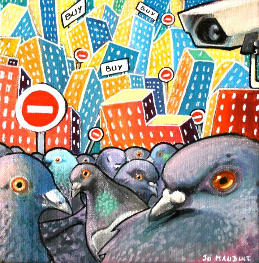 bande de pigeons by Djoz