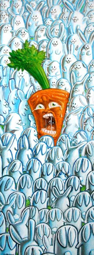 La carotte est cuite by Djoz
